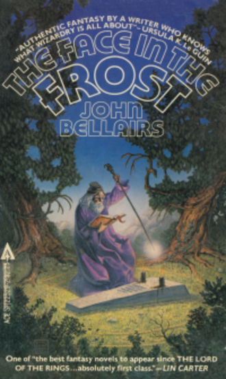 The Face in the Frost - Third Ace Books paperback edition (1981) with cover illustration by Carl Lundgren