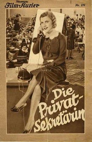 The Private Secretary (1931 German film)