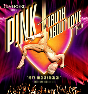 The Truth About Love Tour sixth concert tour by P!nk