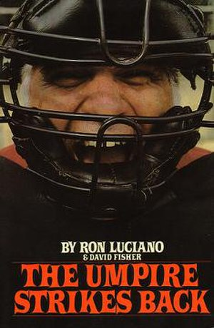 Ron Luciano - Luciano's first book