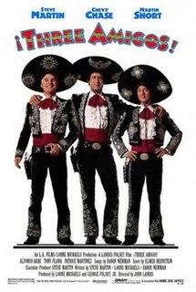<i>Three Amigos</i> 1986 film by John Landis