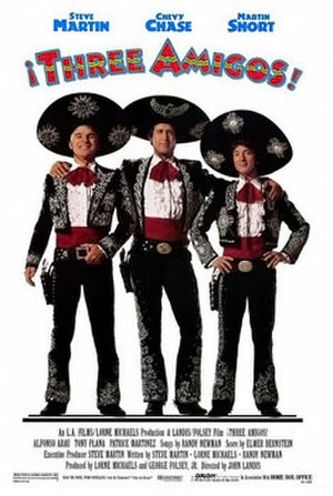 Three Amigos - Theatrical release poster