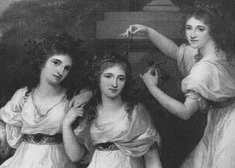 "Coutts - The ""Three Graces"", the daughters of Thomas Coutts"