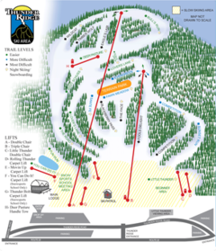 Thunder Ridge Trail Map