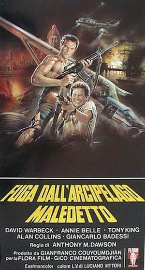 Tiger Joe - Italian theatrical release poster by Enzo Sciotti