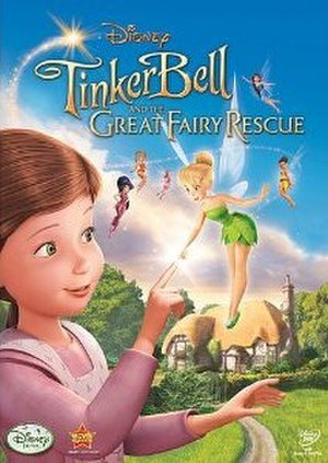 Tinker Bell and the Great Fairy Rescue - DVD cover