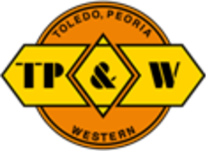 Toledo, Peoria and Western Railway - Image: Toledo, Peoria and Western Railway logo
