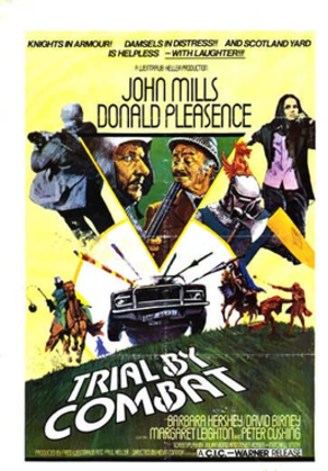 Trial by Combat (film) - Theatrical Poster