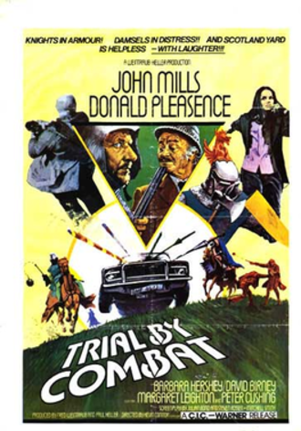 Trial by Combat - Theatrical Poster