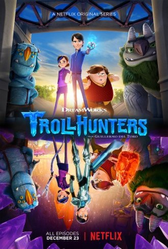 Trollhunters: Tales of Arcadia - Promotional poster for its first season