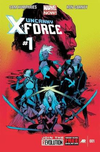 Uncanny X-Force - Image: Uncanny X Force vol 2 Cover