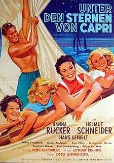 <i>Under the Stars of Capri</i> 1953 film