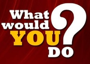 What Would You Do? (ABC News series) - Image: What Would You Do logo