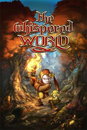 The Whispered World - Image: Whispered world cover