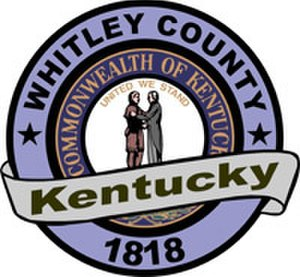 Whitley County, Kentucky - Image: Whitley County Seal Small