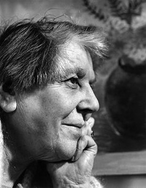 Winifred Nicholson - Nicholson in 1969, photographed by Pamela Chandler