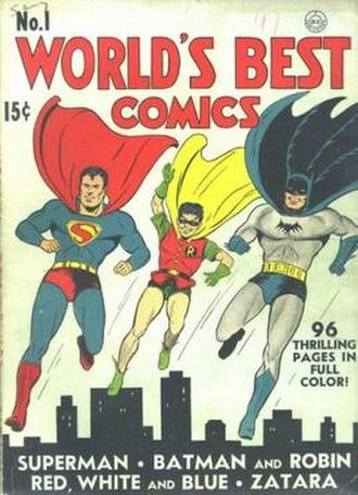 World's Finest Comics - Image: World's Finest Comics 1
