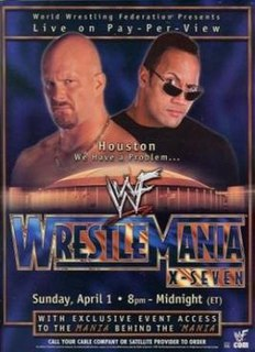 WrestleMania X-Seven 2001 World Wrestling Federation pay-per-view event