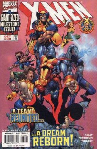 Nightcrawler (comics) - Image: Xmen 80