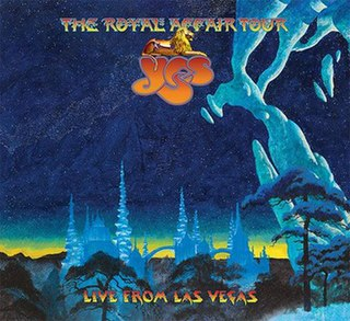 <i>The Royal Affair Tour: Live in Las Vegas</i> 2020 live album by Yes