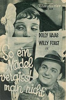 <i>You Dont Forget Such a Girl</i> 1932 film