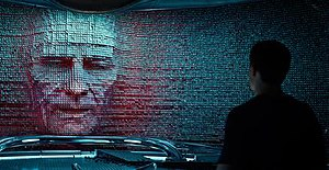 Zordon - Bryan Cranston as Zordon in the 2017 film, Power Rangers.