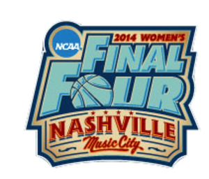 2014 NCAA Division I Women's Basketball Tournament - The official 2014 Women's Final Four logo.