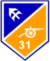31st Reserve Field Artillery Regiment (Ireland) (shoulder flash).png