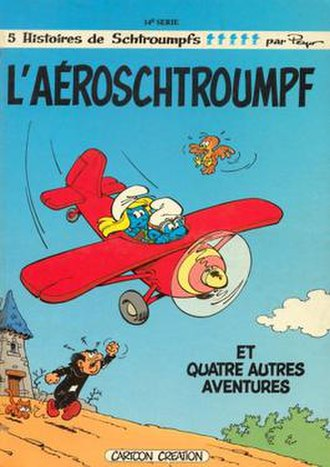 The Aerosmurf - Image: 338px L'aéroschtroumpf