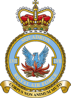 No. 57 Squadron RAF Flying squadron of the Royal Air Force