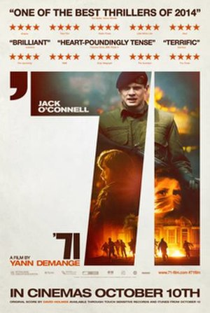 '71 (film) - UK release poster