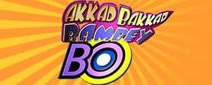 """Akkad Bakkad Bambey Bo - Intertitle of """"Akkad Bakkad Bambey Bo""""."""