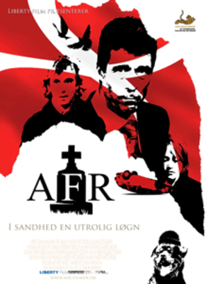 AFR (film) - Theatrical release poster