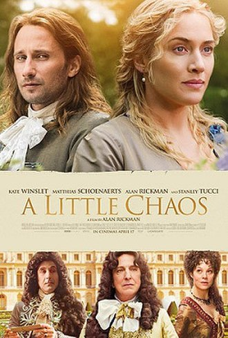 A Little Chaos - Theatrical release poster