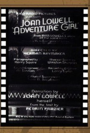 Adventure Girl - Title card from film