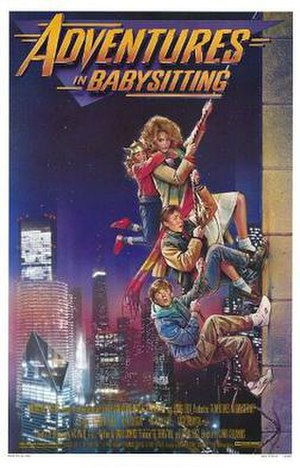 Adventures in Babysitting - Theatrical release poster by Drew Struzan