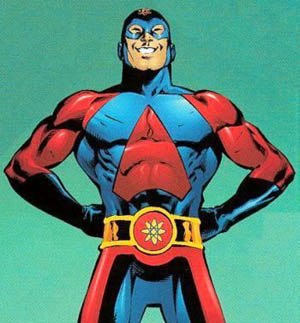 Atom (Ryan Choi) - Ryan Choi as the Atom. Art by Eddy Barrows.