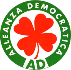 Democratic Alliance (Italy) - Image: Alleanza Democratica