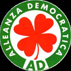 Democratic Alliance (Italy) - Image: Alleanza Democratica