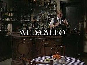 'Allo 'Allo! - Image: Alloallotitle