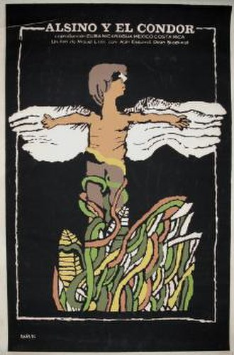 Alsino and the Condor - Cuban theatrical release poster