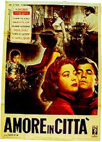Love in the City (1953 film) - Theatrical release poster