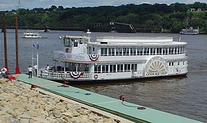 Grand Excursion - The Anson Northrup at Dubuque