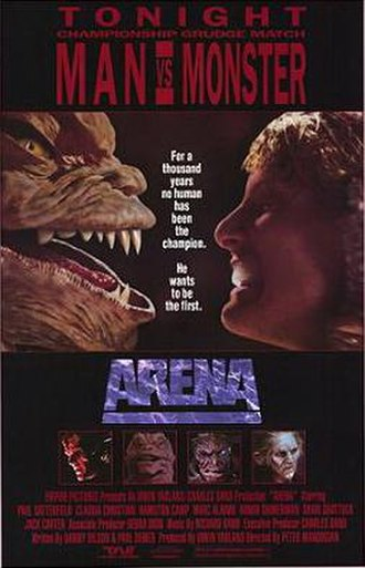 Arena (1989 film) - Theatrical release poster