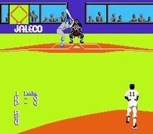 Bases Loaded (video game) - Bases Loaded screenshot