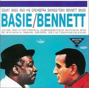 Strike Up the Band (album) - Image: Basie Swings Bennett Sings