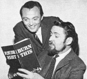 Studio cards - Bill Kennedy (l.) and Bill Box in 1960.