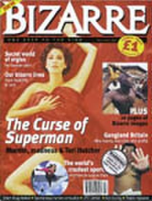 Bizarre (magazine) - Cover of the first issue (February 1997)