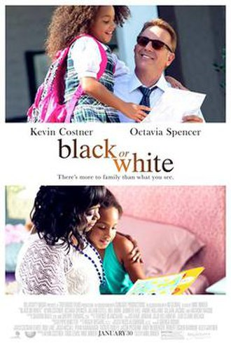 Black or White (film) - Theatrical release poster