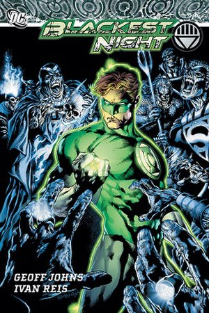 Blackest Night - Absolute edition's cover. Art by Ivan Reis.